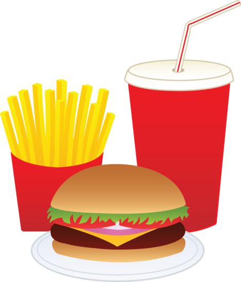 Fries transparent download free. Cheeseburger clipart image freeuse
