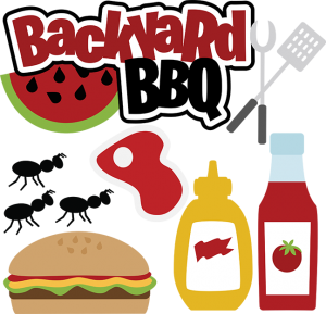 Hamburger svg silhouette. Backyard bbq files for