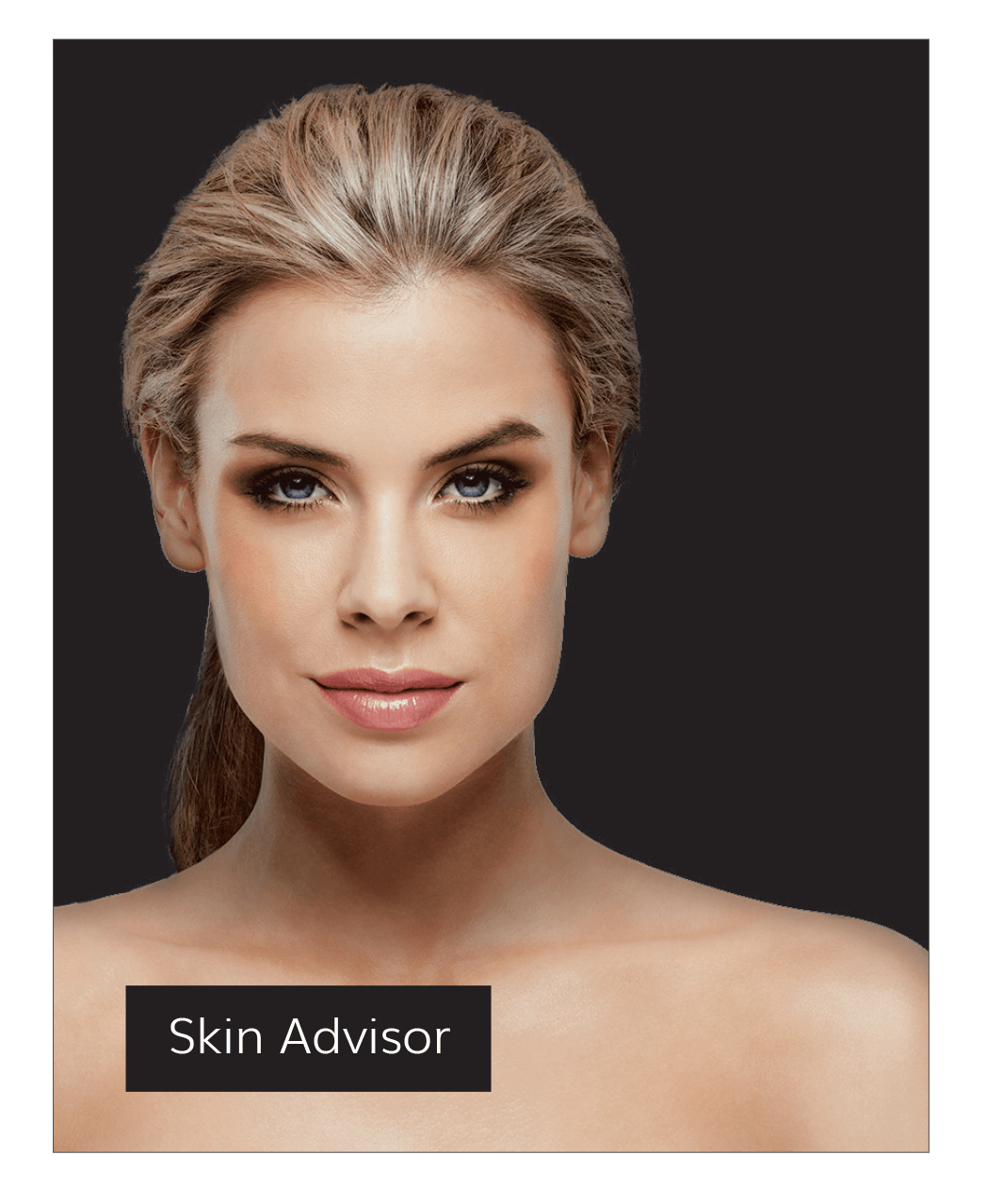 Hamilton vector face. Home asap skin products