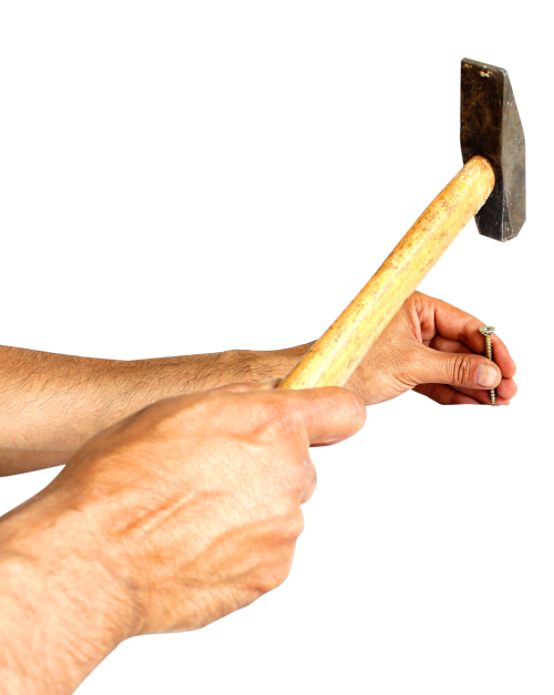 Hammer and nail png. Hammering a image pngpix