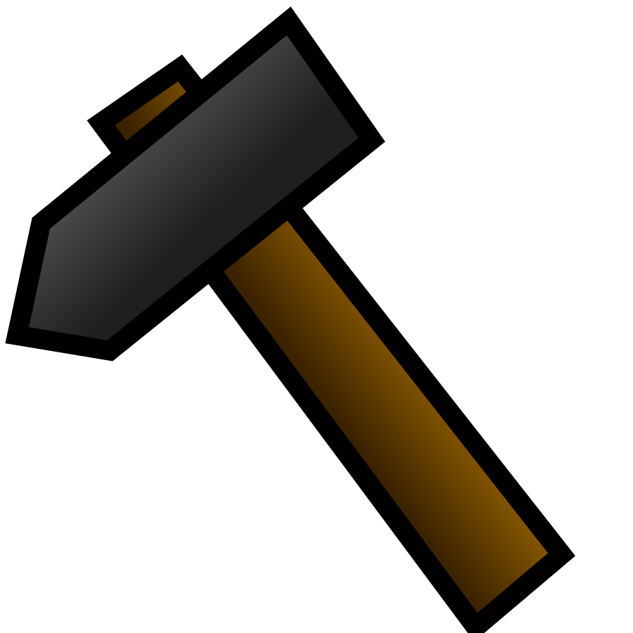 Hammer clipart spanner. Free image download clip