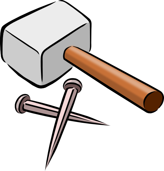 Carpentry clipart carpenter tool. Tools clip art at