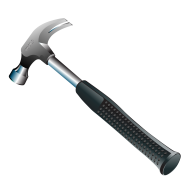 Hammer clipart hard object. Free png image download