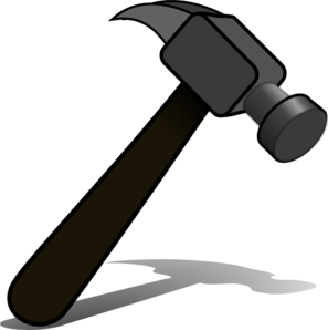 anvil clipart blacksmith tongs