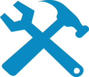 Hammer clipart spanner. And wrench silhouette clip