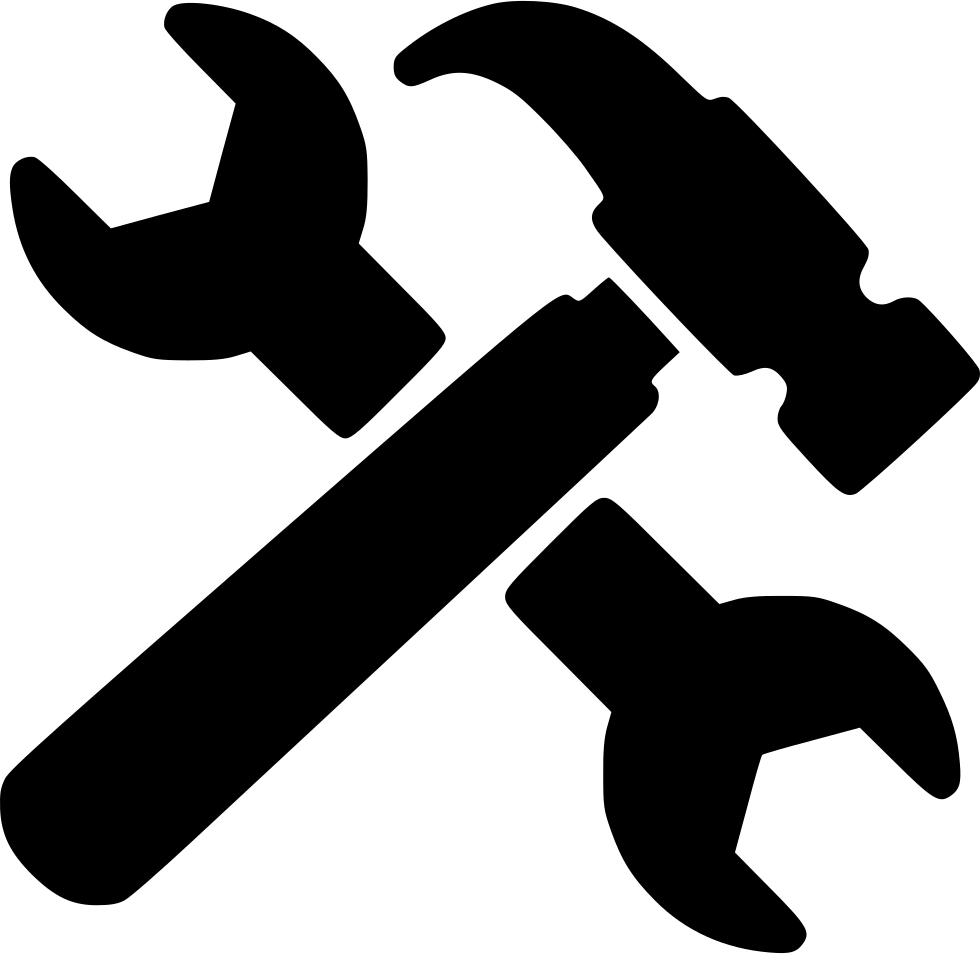 Hammer icon png. Wrench and svg free