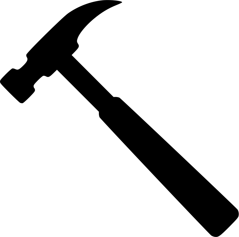 Hammer png icon. Svg free download onlinewebfonts