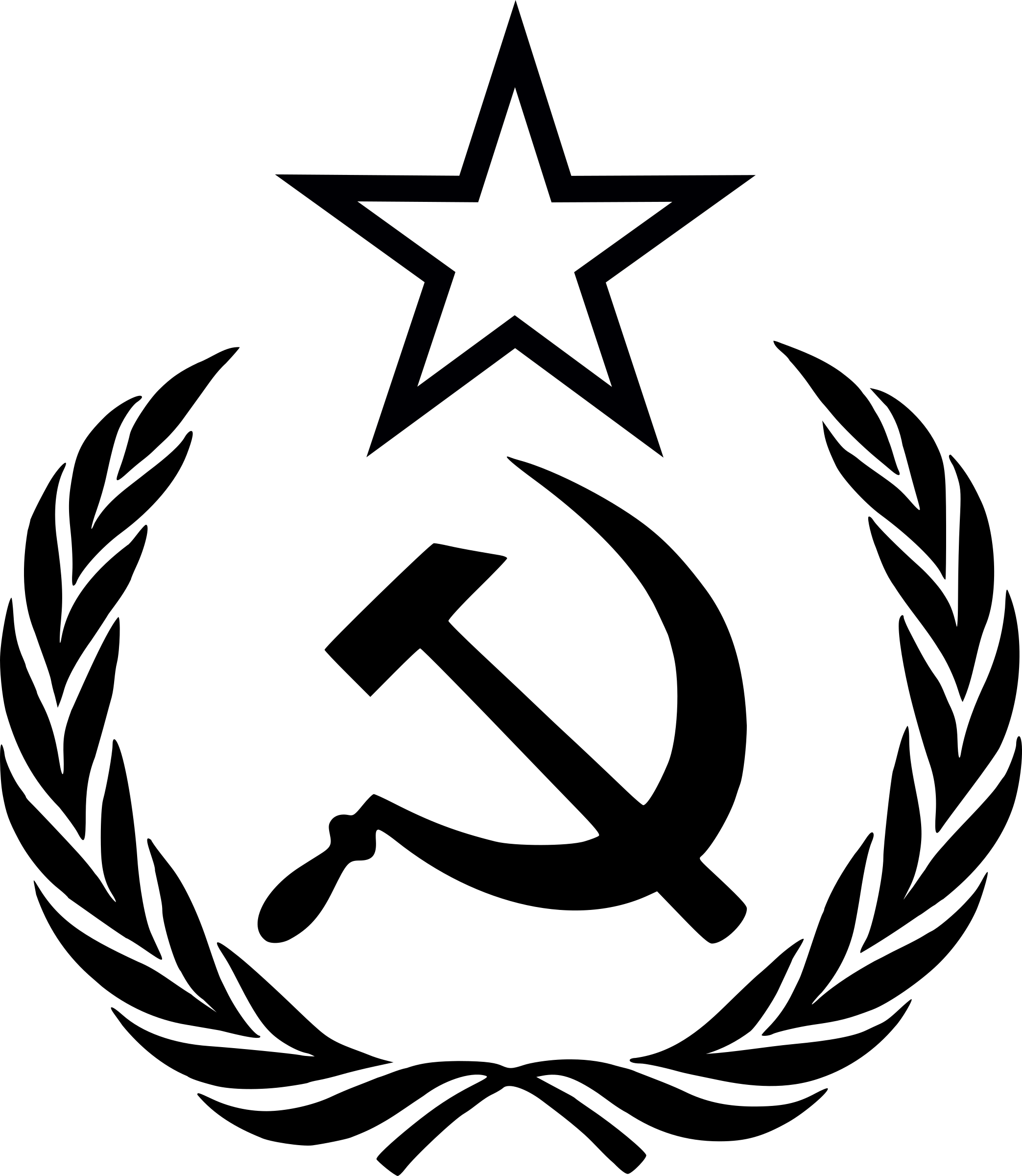 Hammer sickle png. Star wreath icons free
