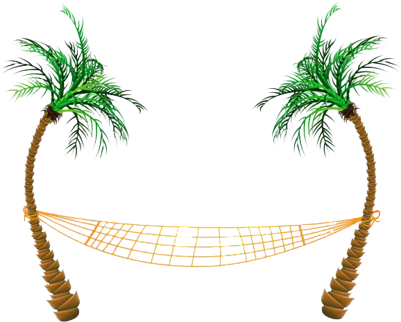 Hammock clipart pom tree. Download beach png palm