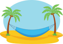 Hammock clipart pom tree. Search results for clip