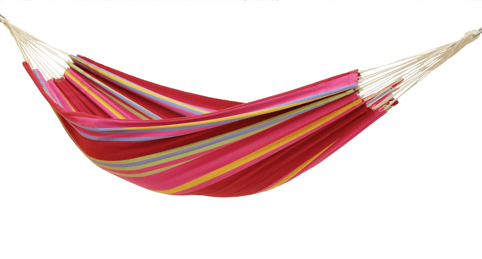 Hammock clipart transparent. Colourful png stickpng