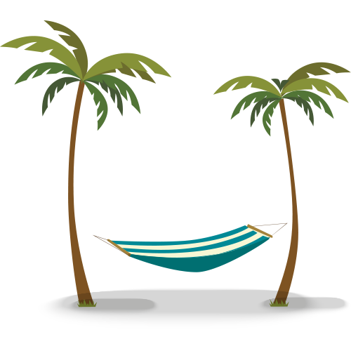 Hammock clipart transparent. Bath island karachi dawn