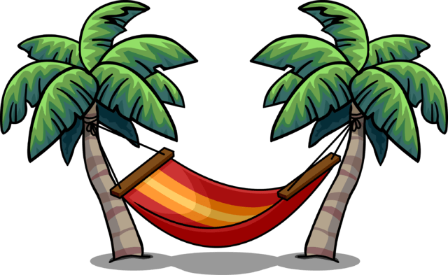 Hammock clipart. Transparent png stickpng