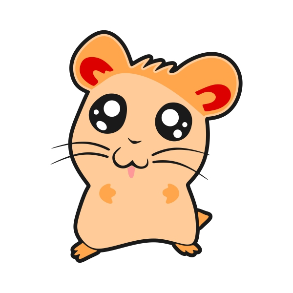Hamster clipart. Silhouette at getdrawings com