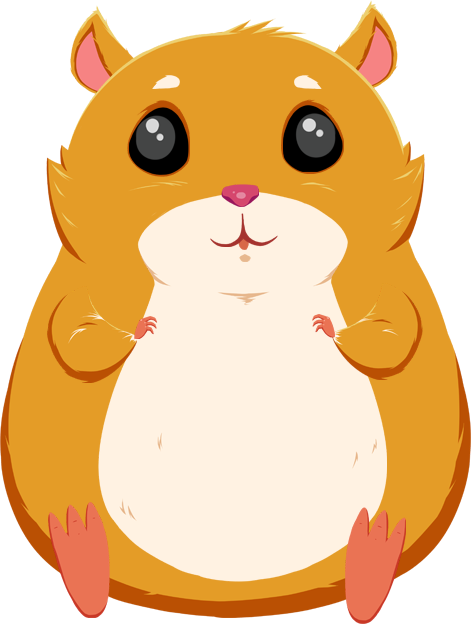 Hamster clipart animated. Cat whiskers film clip