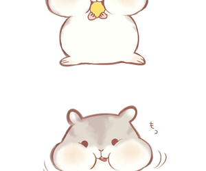 Kawaii clipart hamster. Images about cute
