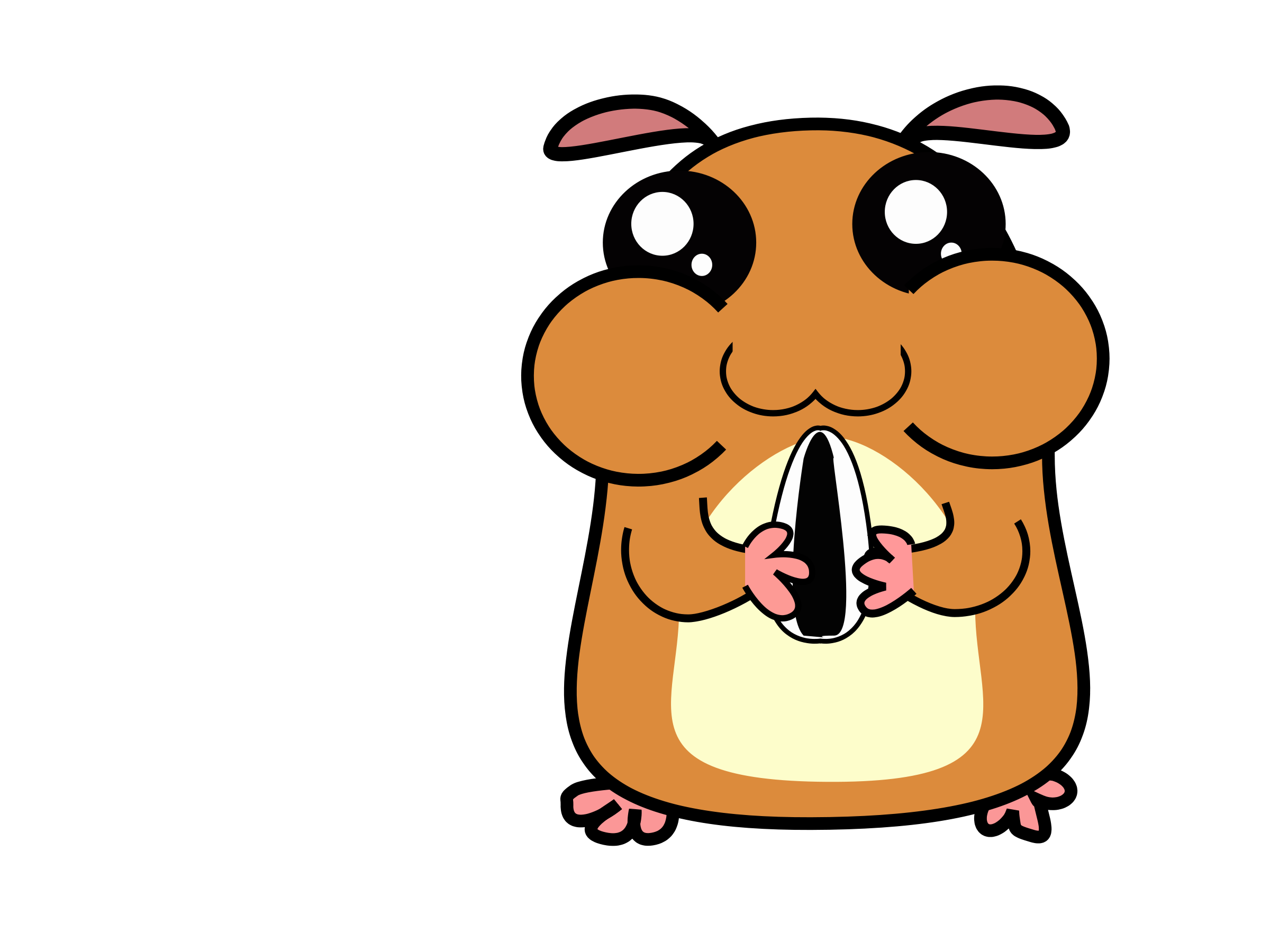 hamster clipart animated