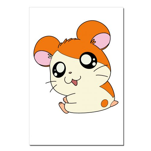 Hamster clipart real. Three pencil and in