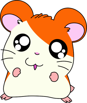 Hamtaro transparent cute. The hamster png image