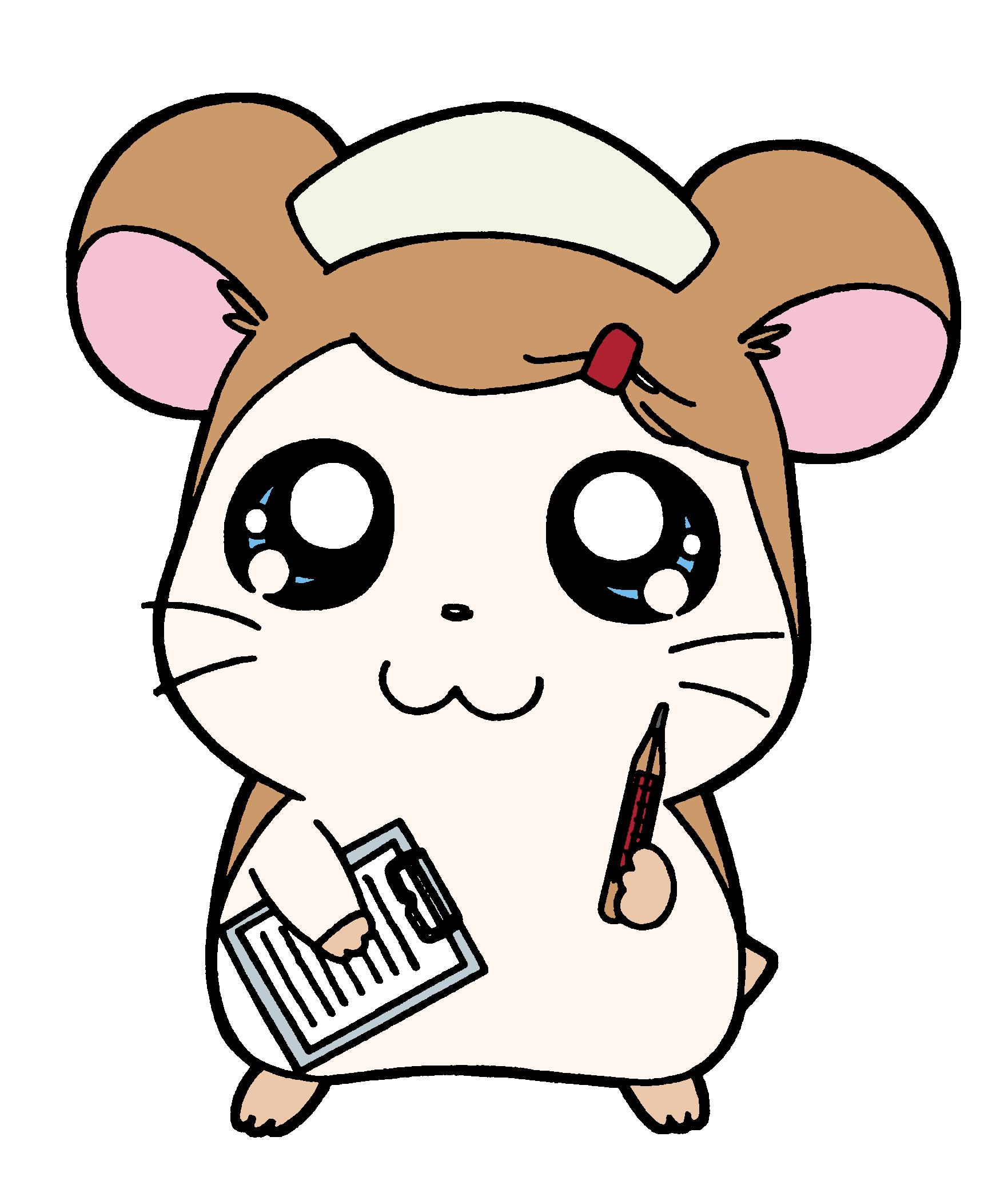 hamtaro transparent fat