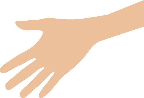 Hand. Washing information for the