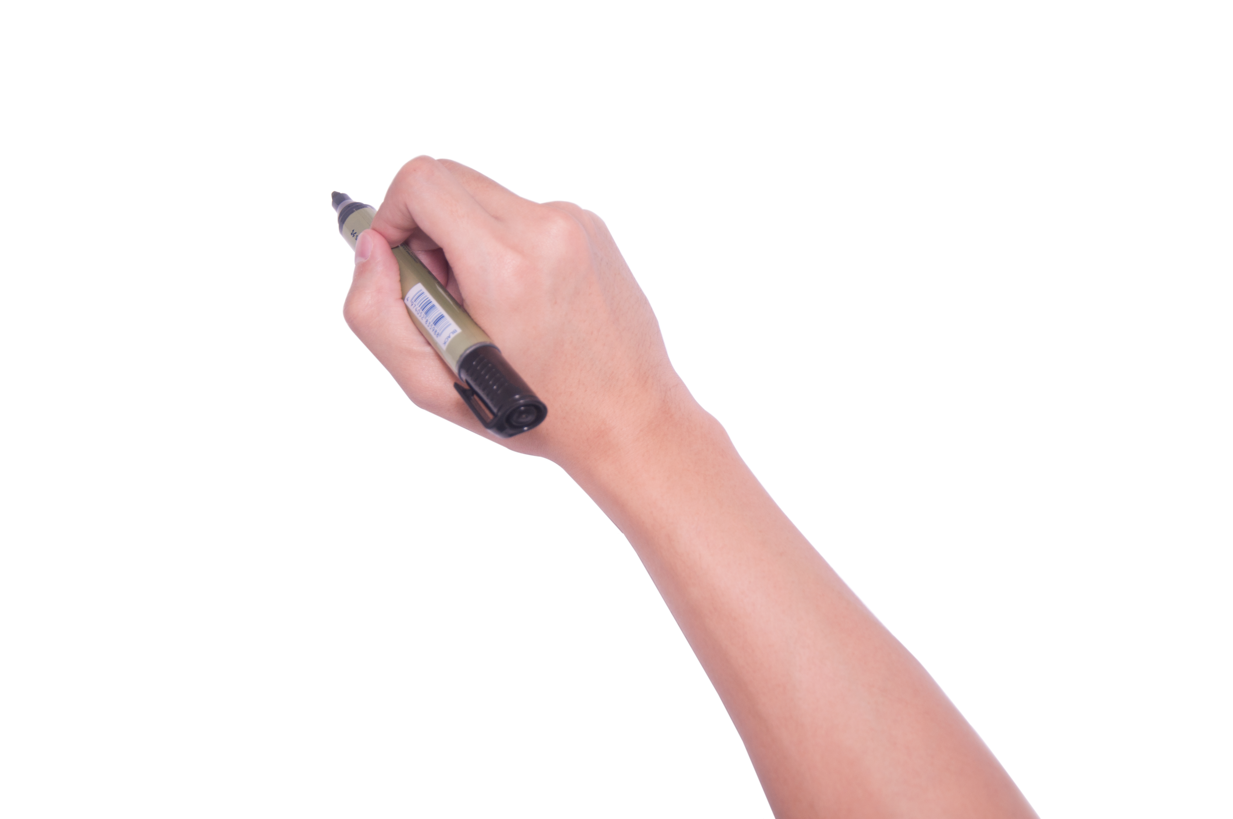 Hand with pen png. Icon writing transprent free