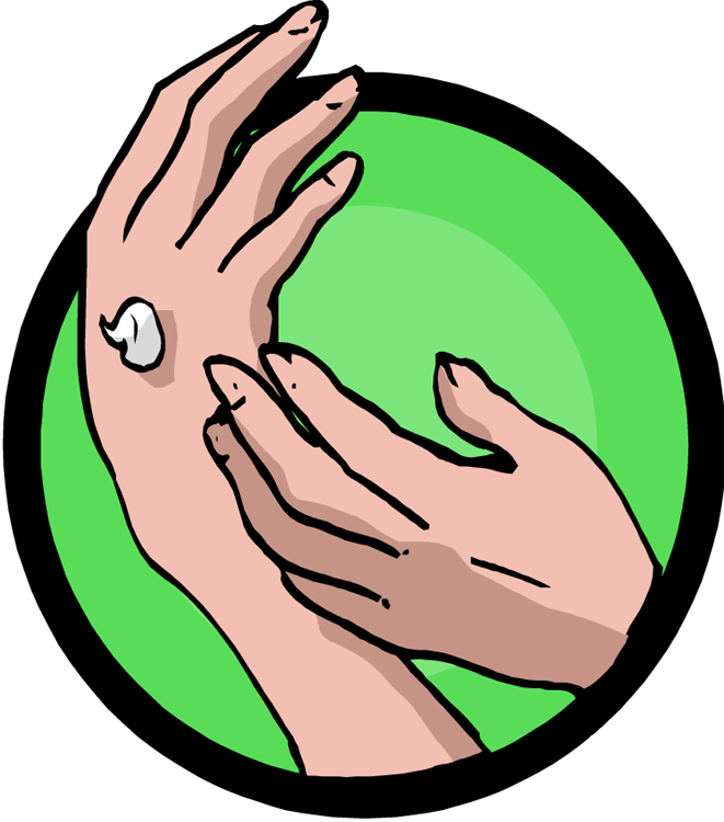 Hand clip animated. Spa clipart hands cute
