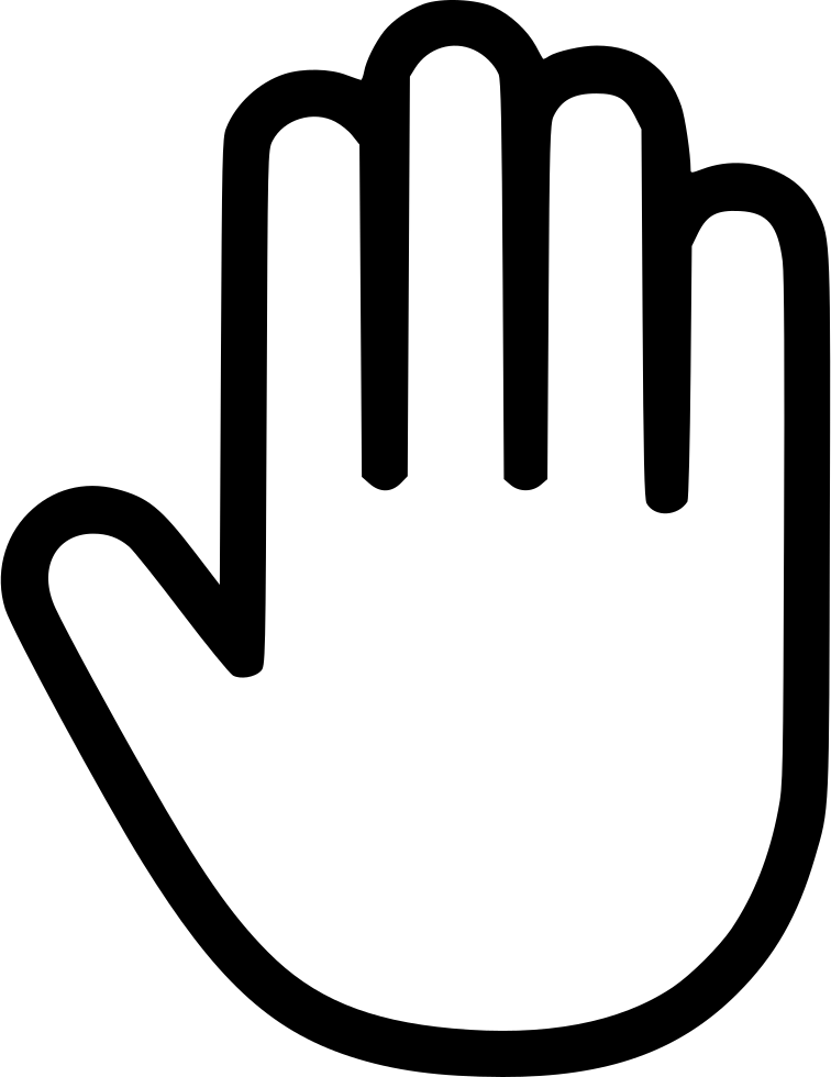 Hand clip svg. Png icon free download