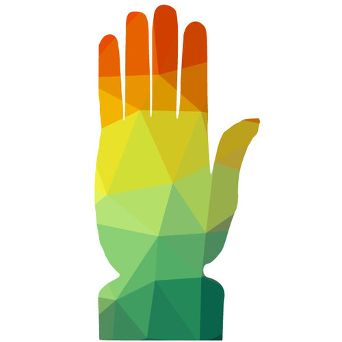 Hand clipart. Outstretched inspirational
