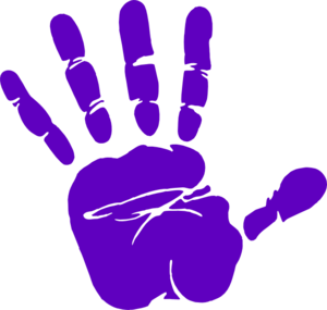 child handprint png