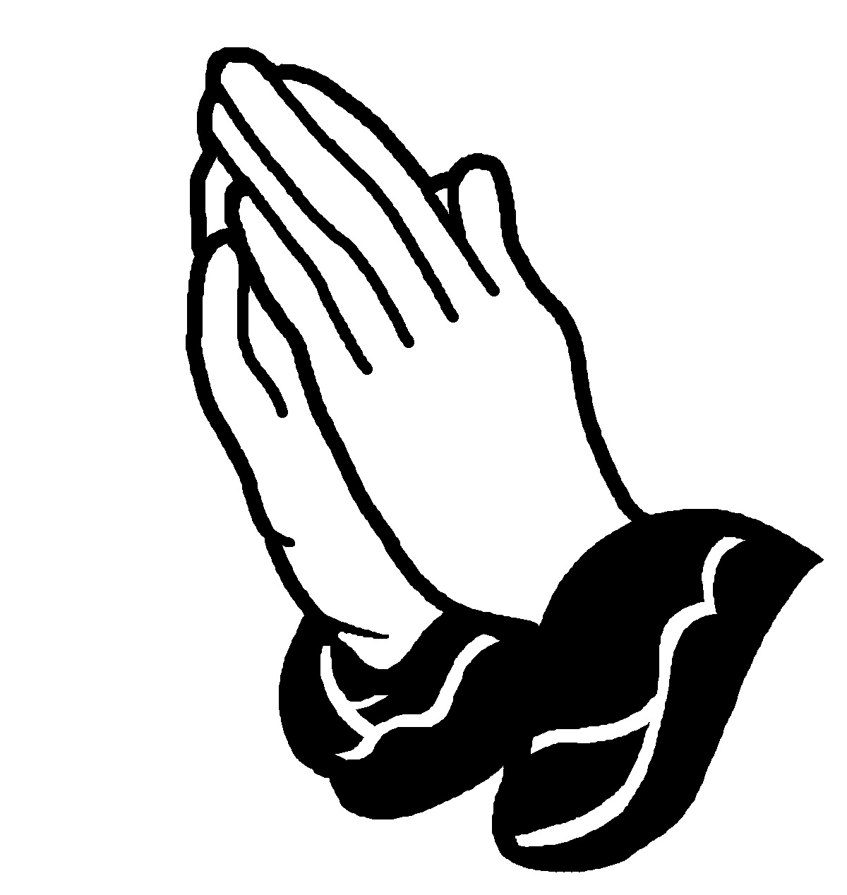 Hand clipart pray. Fresh praying hands collection