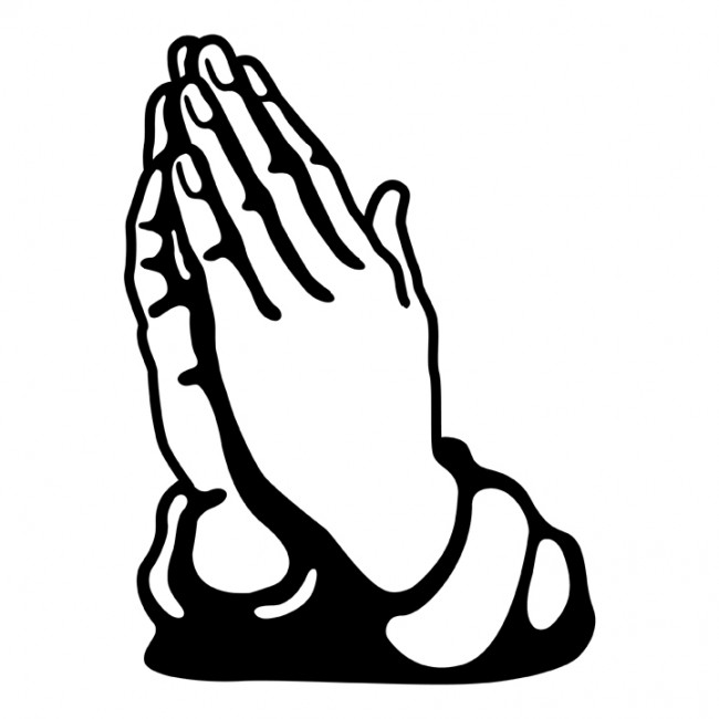 Hand clipart pray. Praying hands clip art