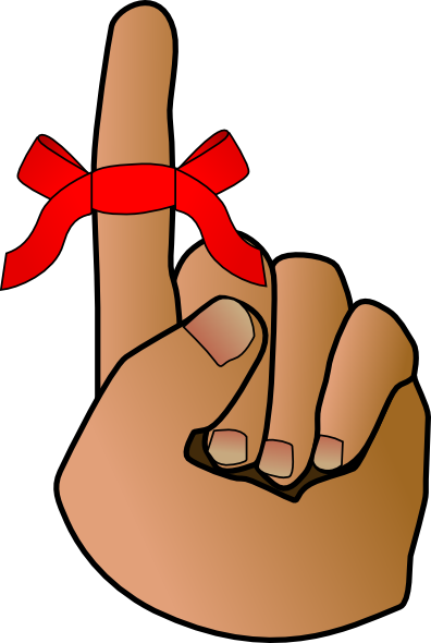 Reminder png cartoon. Hand clip art clipart