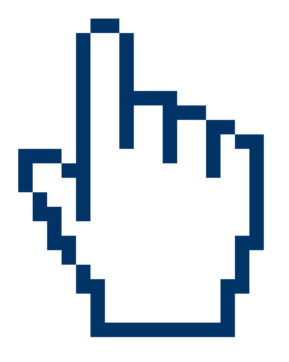 Internet mouse icon png. Big free hand cursor