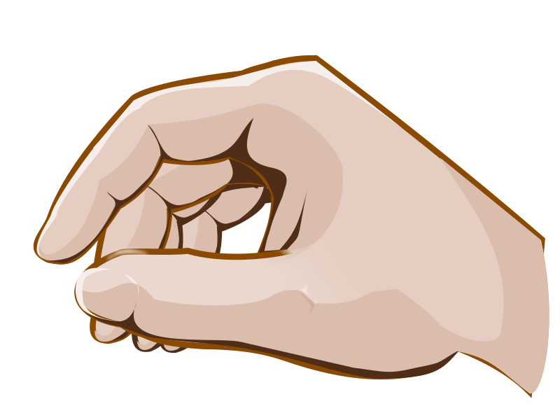 Hand drawing png. Transparent stickpng people hands