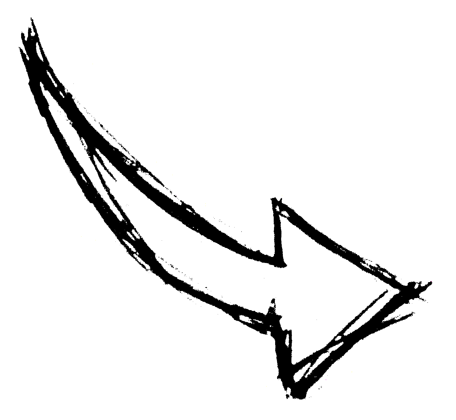 Hand drawn arrow png. Arrows image transparent onlygfx