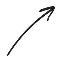 Hand drawn arrow png. Up icons noun project