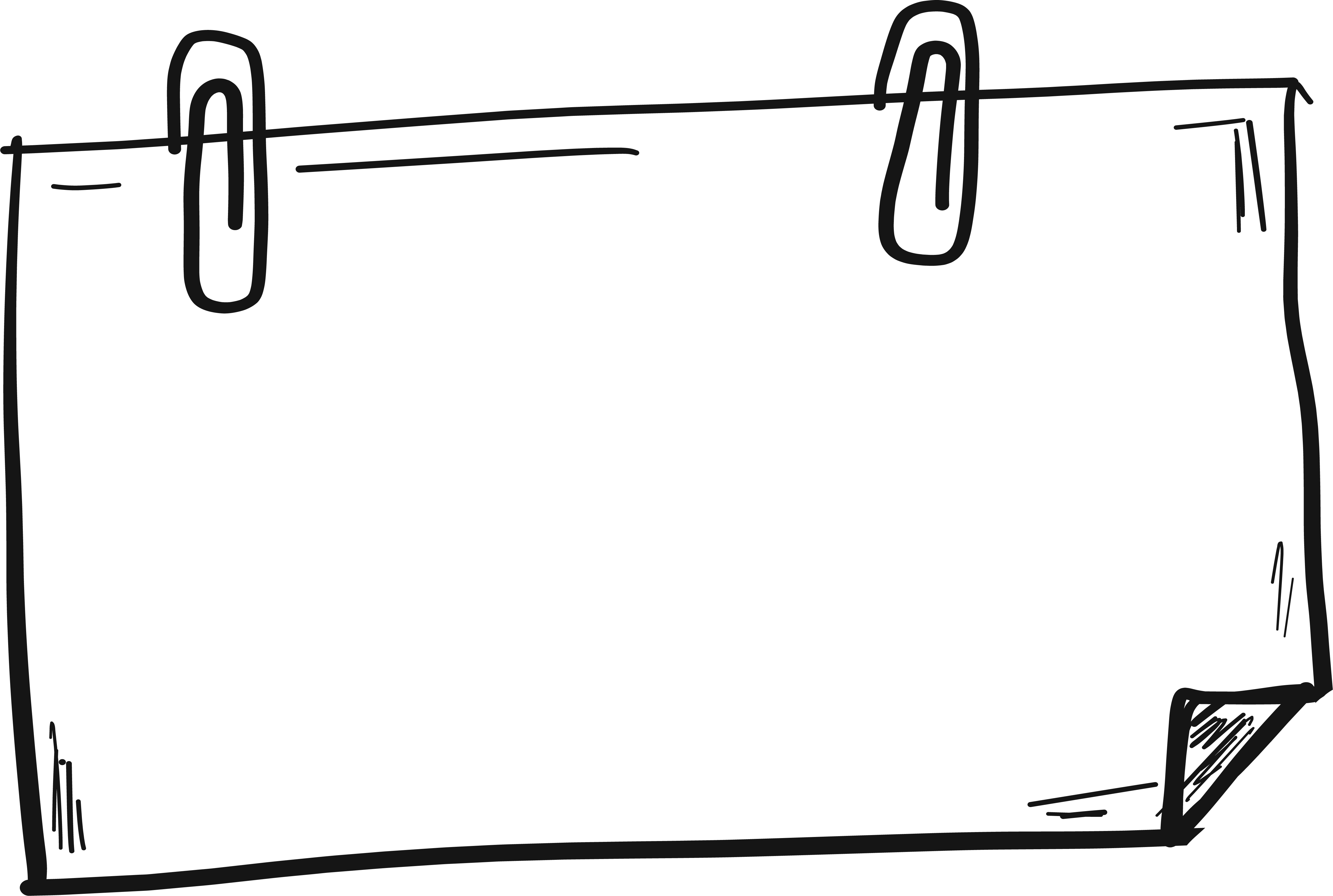 Hand drawn border png. Computer file lines transprent