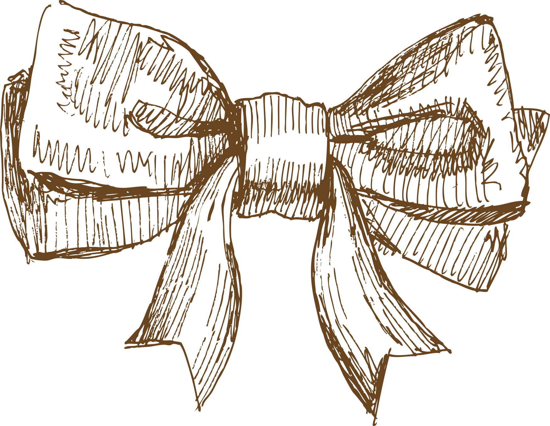 Snegurochka drawing pencil new. Hand drawn bow png svg black and white download