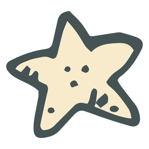 svg star hand drawn