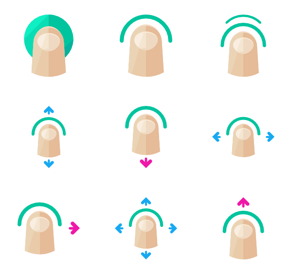 icon packs vector. Hand finger pointing png image transparent stock