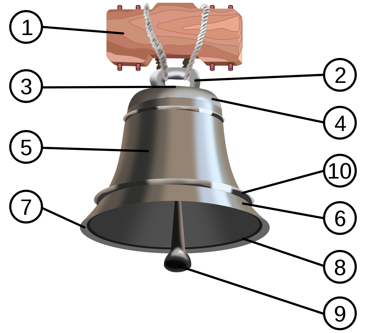 Hand held bell png. Wikipedia