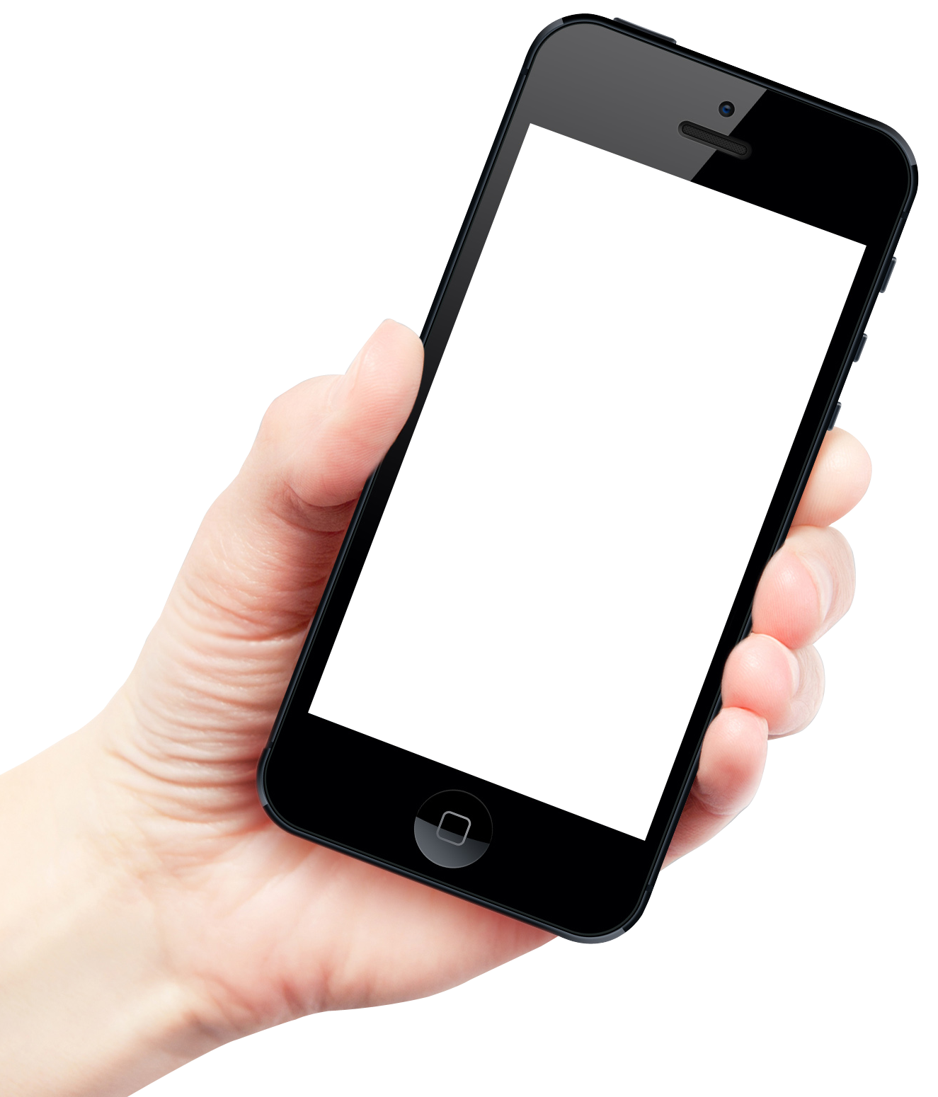 Hand holding cellphone png. Smartphone mobile image