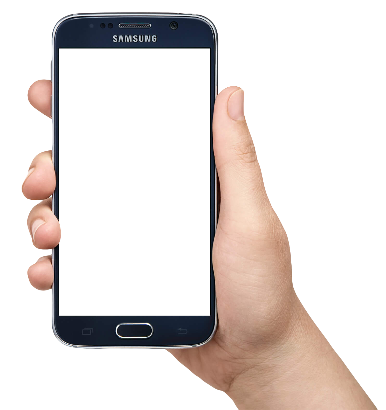 Hand holding cellphone png. Mobile in transparent images