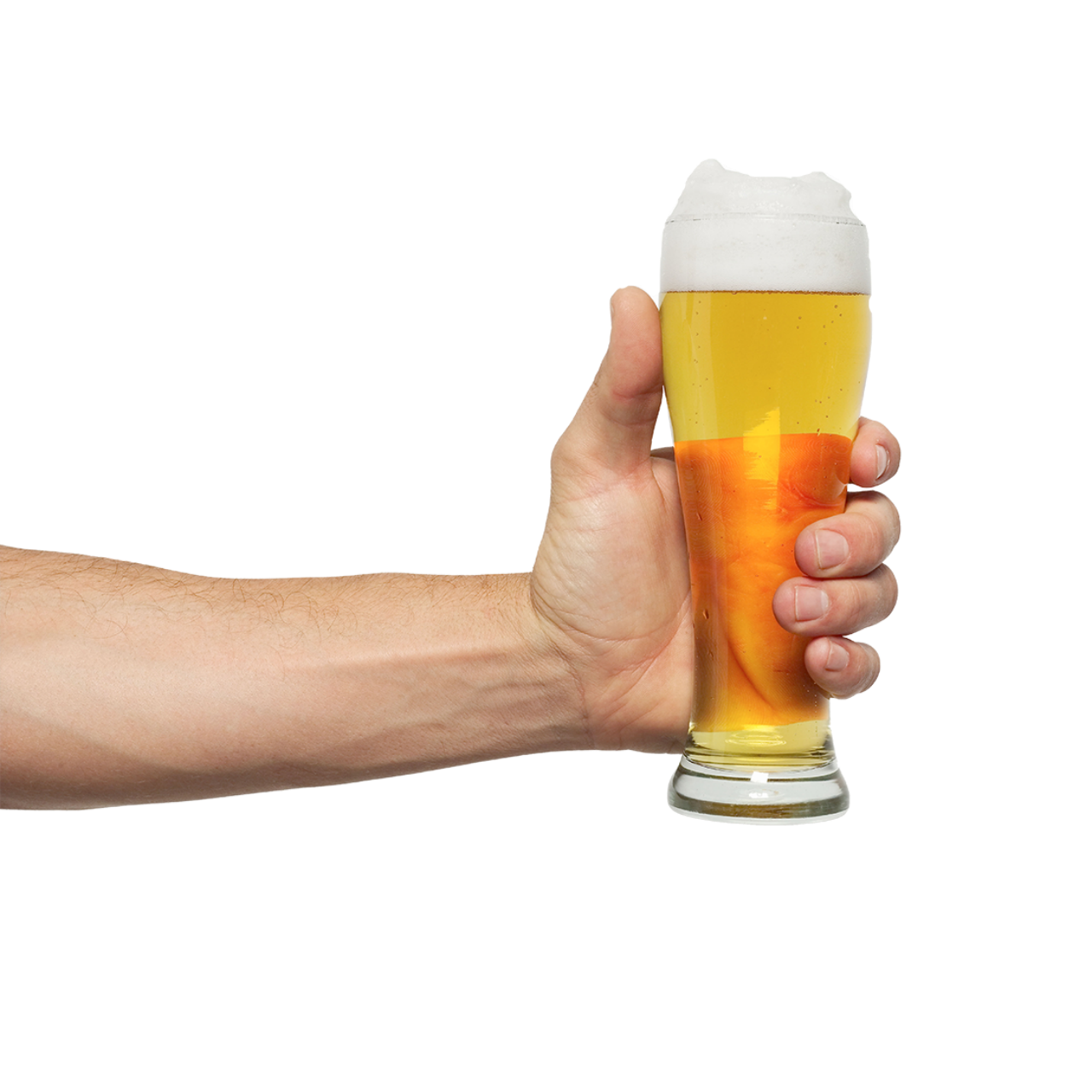 Hand holding drink png. Beer wine ale fast