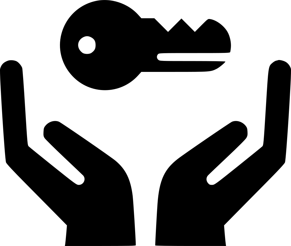 Hand holding keys icon png. Hands key svg free