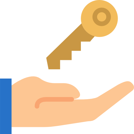 hand keys icon png