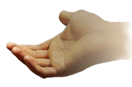 Hand of god png. Knowing jesus accept gods