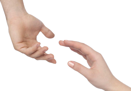 Hand reaching out png. Christ has no body