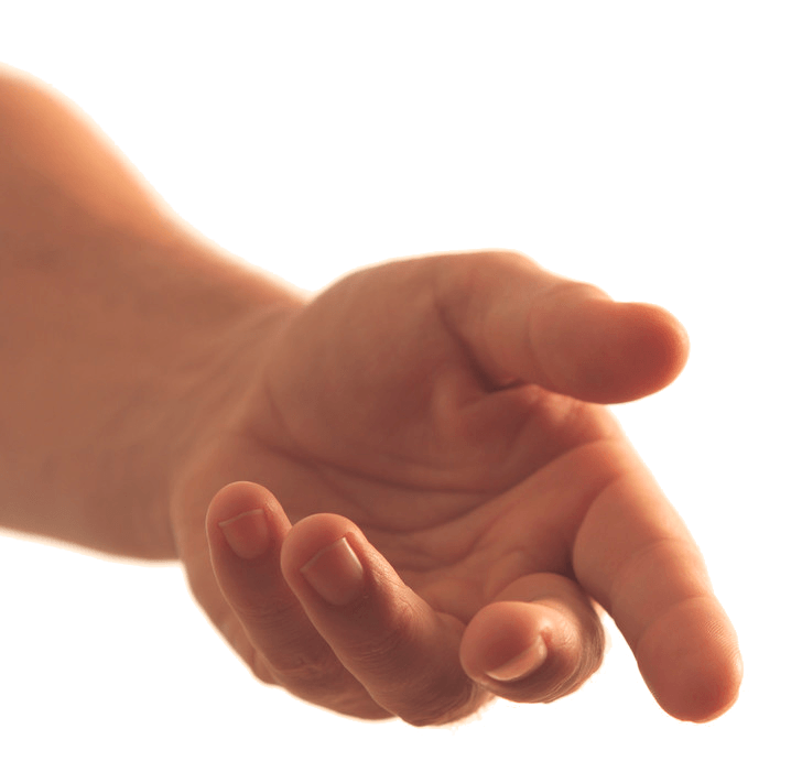 Hand reaching out png. Asking transparent stickpng